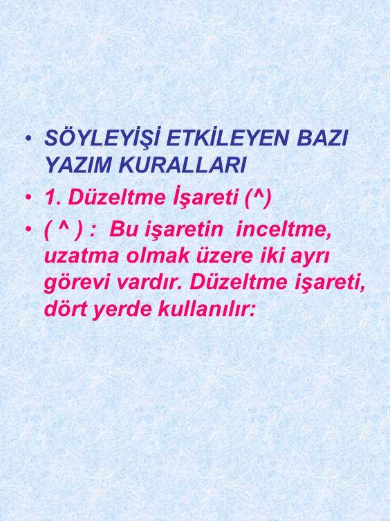 11. > Sesi : Türkçenin