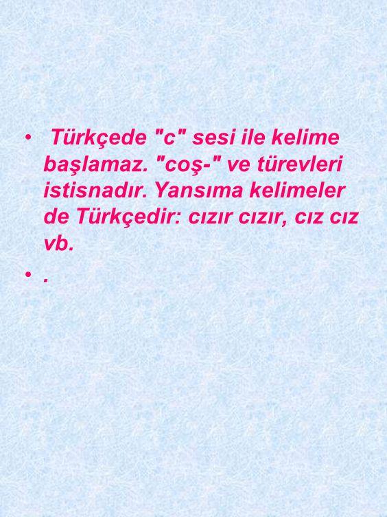 Türkiye Türkçesinde uzun ünlü yoktur.