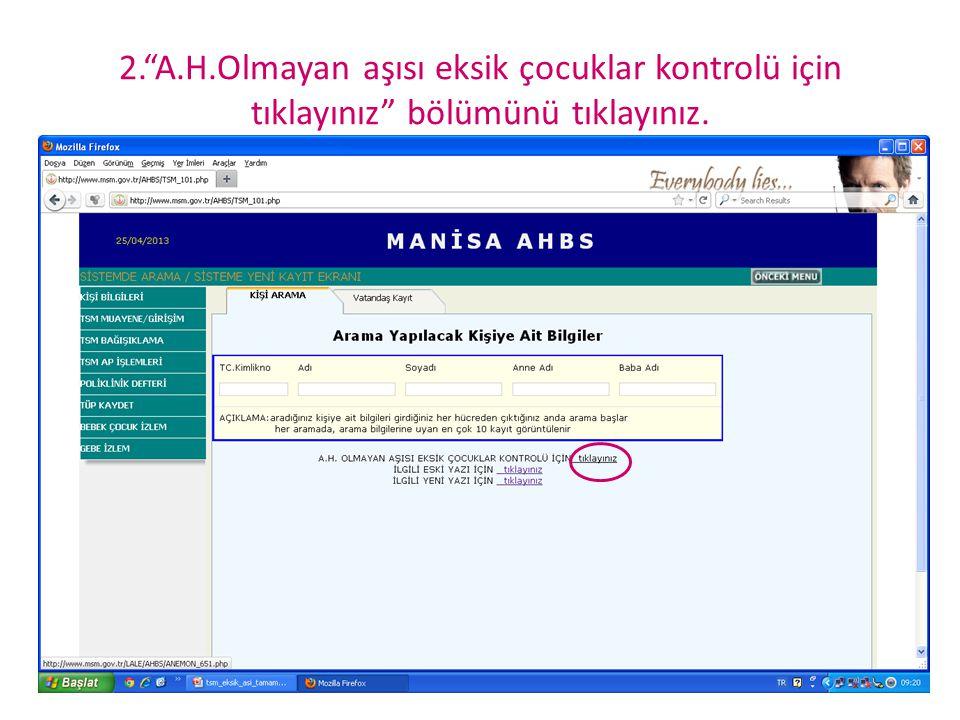 KPA Aşısı ile ilgili hatırlatma 01.05.2008'den sonra doğanlara hak verilmişti.