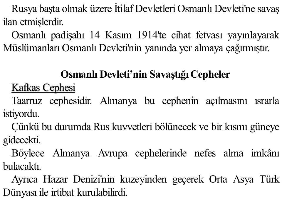Mondros Ateşkes Antlaşması nın Sonuçları Bu antlaşma ile Osmanlı Devleti fiilen sona ermiştir.