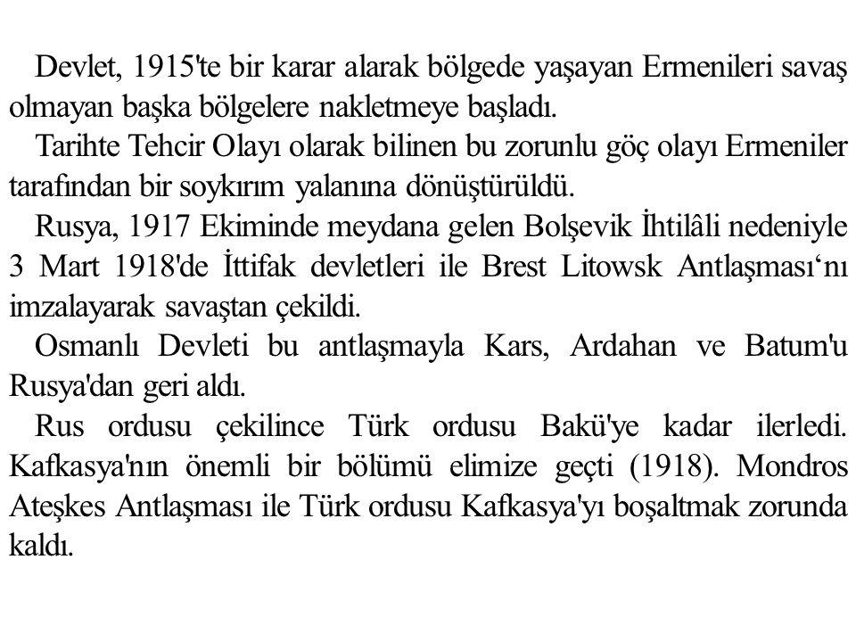 Avusturya İle Saint Germain Antlaşması (10 Eylül 1919) Macaristan, Çekoslovakya ve Yugoslavya tanınacak, Almanya ile birleşmeyecek, savaş tazminatı ödeyecek, Yugoslavya, Romanya , İtalya ve Polonya ya toprak verecek.