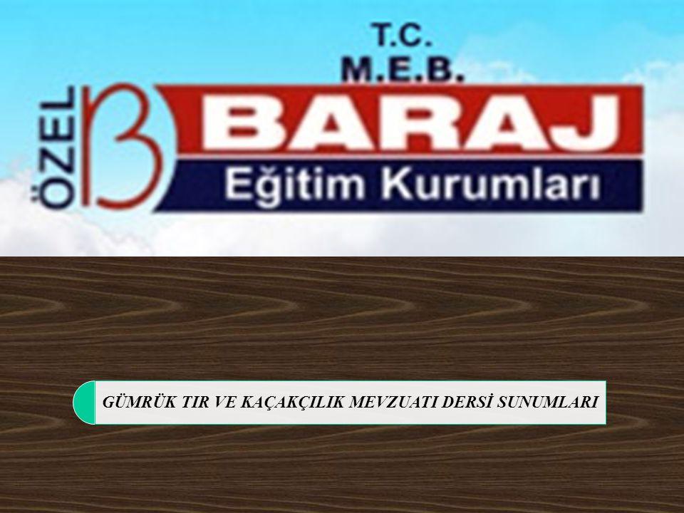 12/111 TANIMLAR Eşya; Her türlü madde, ürün ve değer.