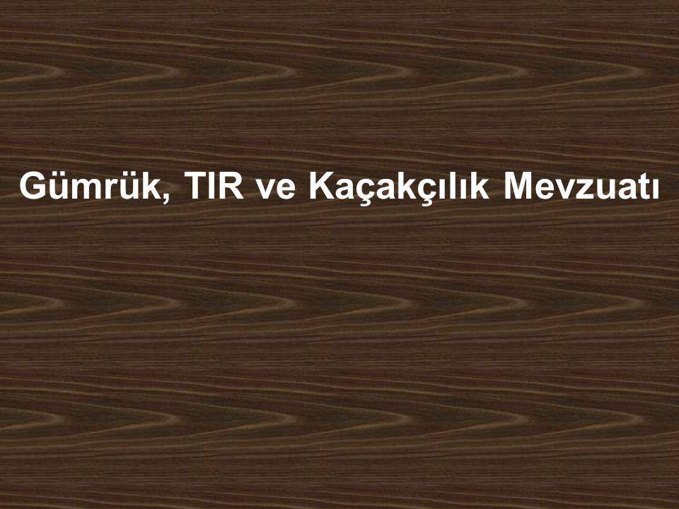 13/111 TANIMLAR Gümrük tarifesi; Gümrük vergileri gümrük tarifesine göre hesaplanır.