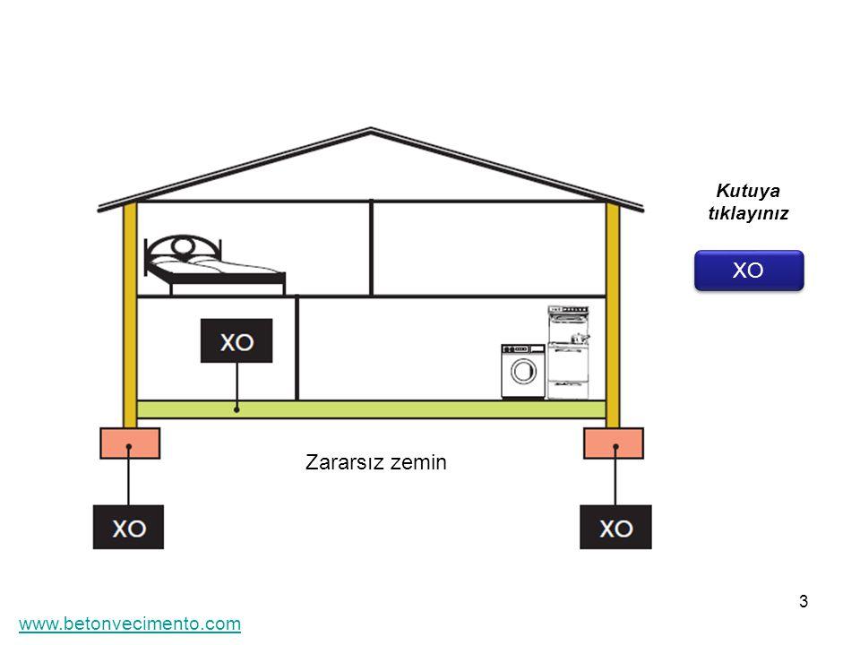 3 XO Kutuya tıklayınız Zararsız zemin www.betonvecimento.com