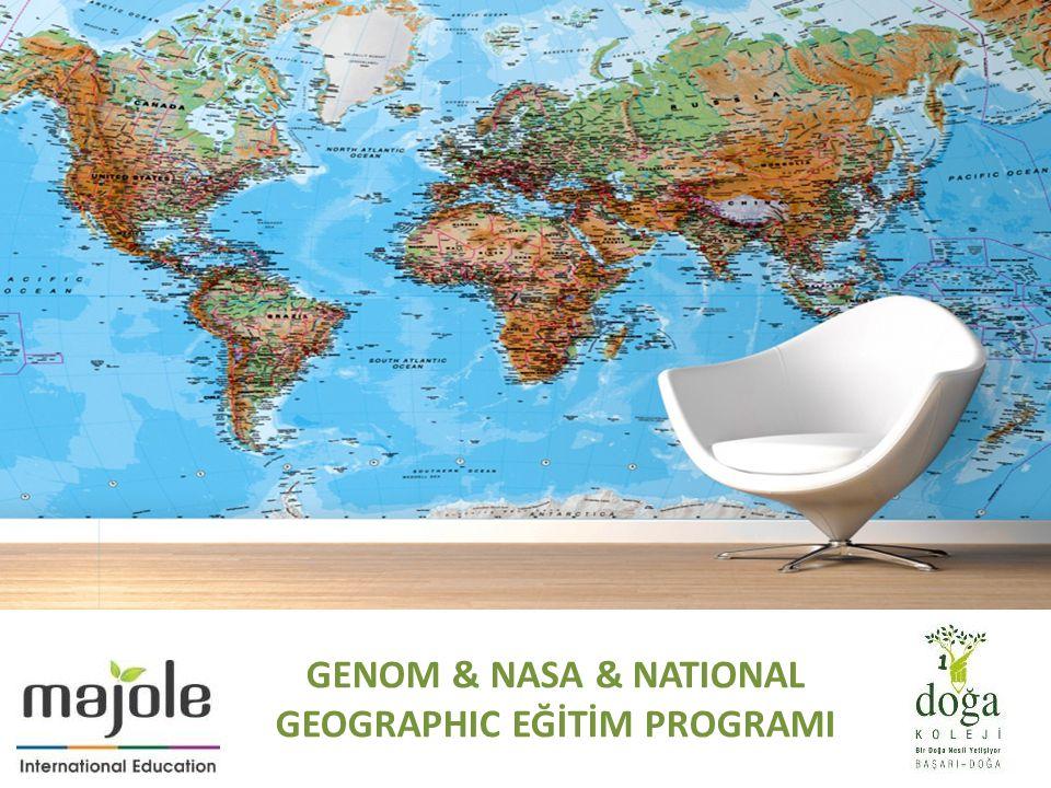 GENOM & NASA & NATIONAL GEOGRAPHIC EĞİTİM PROGRAMI