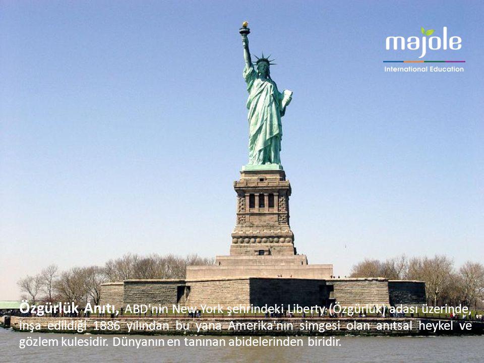 Özgürlük Anıtı, ABD'nin New York şehrindeki Liberty (Özgürlük) adası üzerinde, inşa edildiği 1886 yılından bu yana Amerika'nın simgesi olan anıtsal he