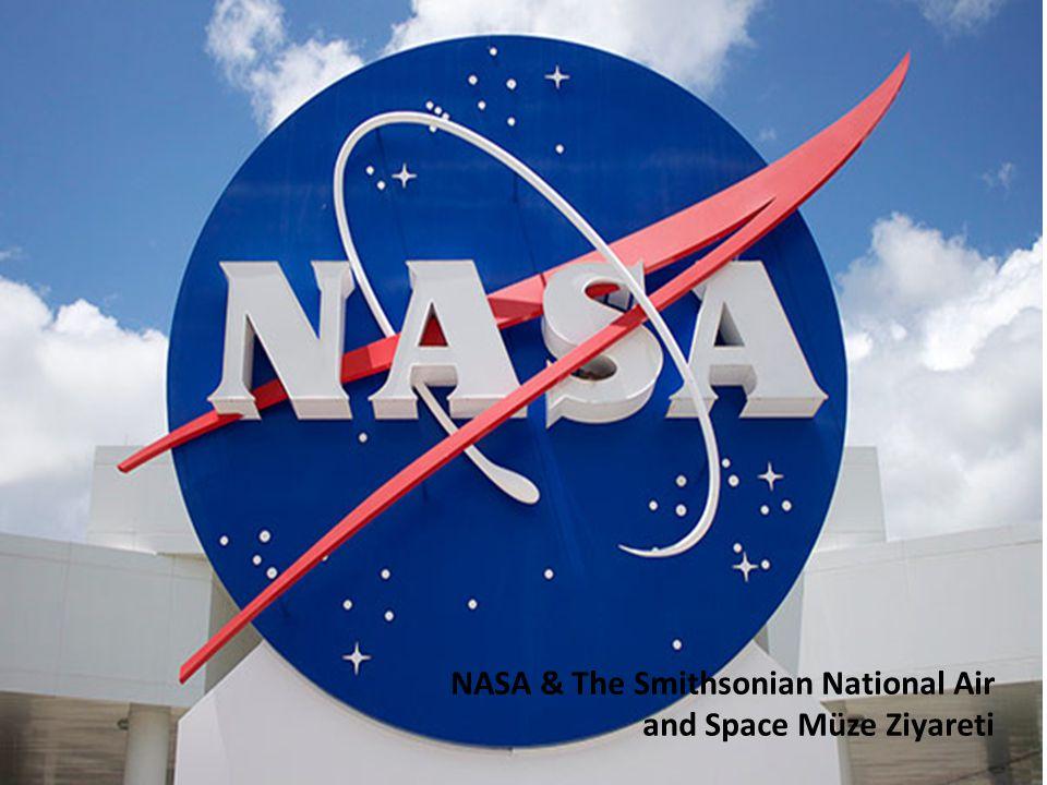 NASA & The Smithsonian National Air and Space Müze Ziyareti