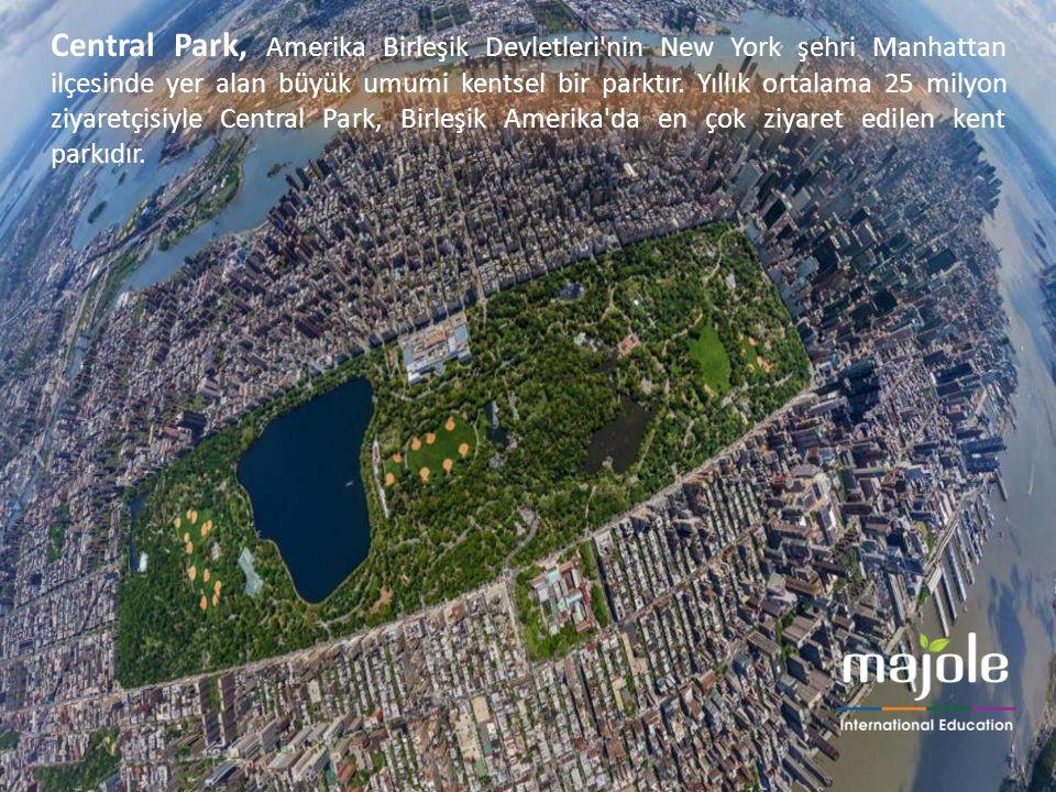 Central Park, Amerika Birleşik Devletleri'nin New York şehri Manhattan ilçesinde yer alan büyük umumi kentsel bir parktır. Yıllık ortalama 25 milyon z