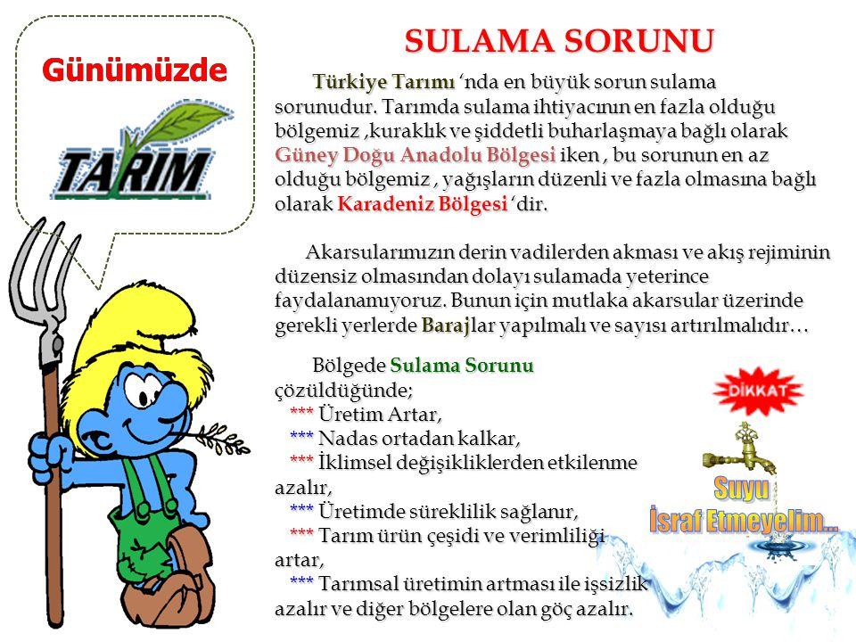 Günümüzde TOPRAK ÖZELLİKLERİ Ülkemizde Marmara, Ege ve Akdeniz Bölgesi'nde Kırmızı Akdeniz toprağı (terra-rossa), Karadeniz, İç Anadolu ve Trakya'da K