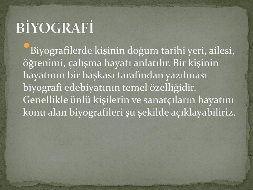 Başlıca tezkireler, yazarları ve yazılış tarihleri: On altıncı asır: Heşt Behişt (Sehi Bey-1538) Latifi Tezkiresi (Latifi-1546) Meşair-üş-Şuara (Aşık Çelebi-1563) Kınalızade Tezkiresi (Kınalızade Hasan Çelebi-1585)