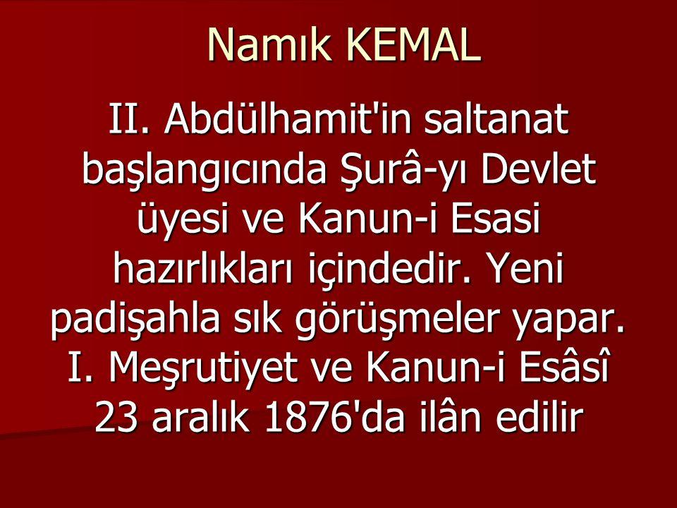 Namık KEMAL II.