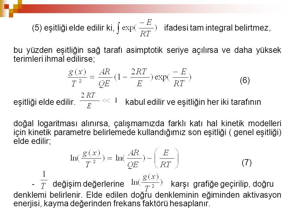 (5) eşitliği elde edilir ki, ifadesi tam integral belirtmez, bu yüzden eşitliğin sağ tarafı asimptotik seriye açılırsa ve daha yüksek terimleri ihmal