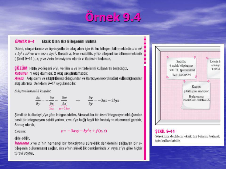 Örnek 9.4