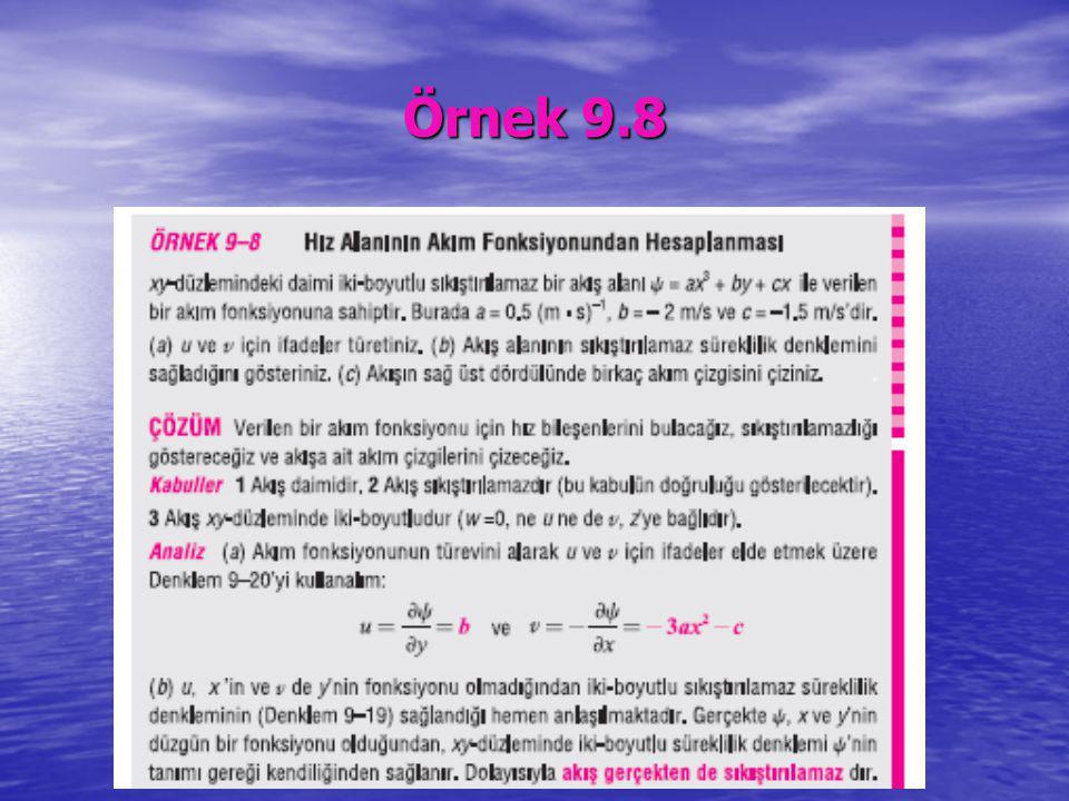Örnek 9.8