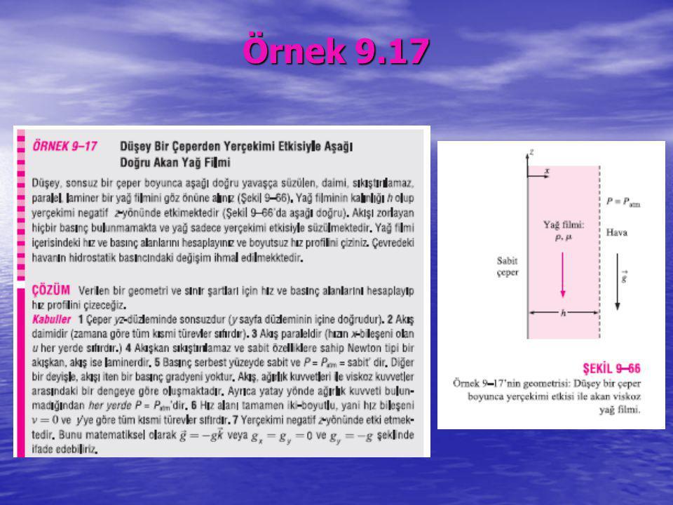 Örnek 9.17