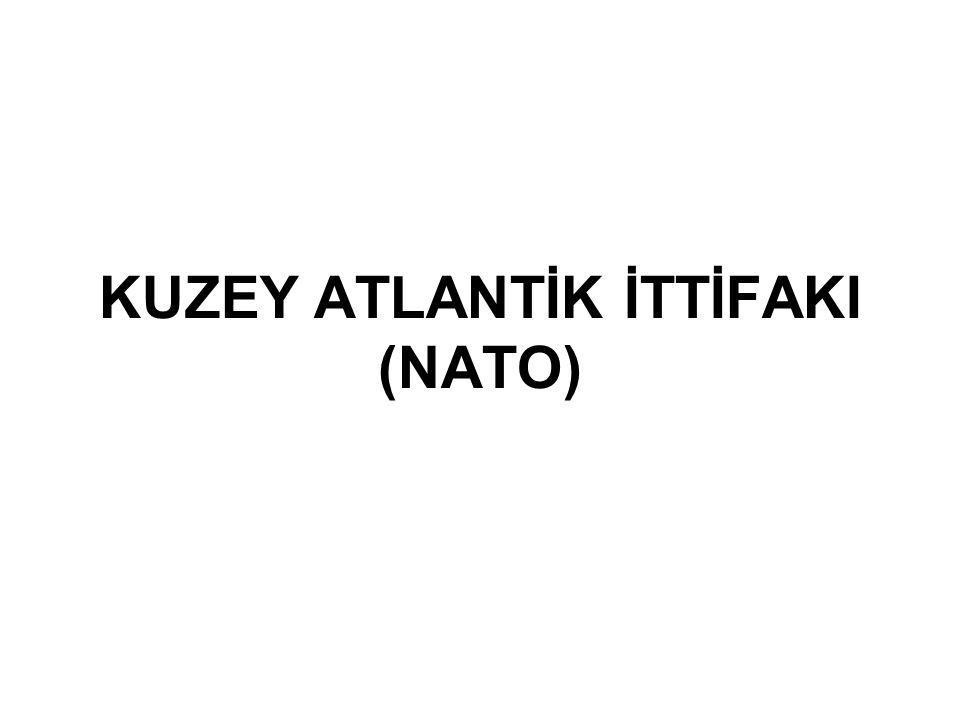 Konsey Kuzey Atlantik Konseyi NATO nun en üst organı olup, en yüksek karar alma organıdır.