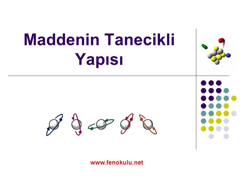 Maddenin Tanecikli Yapısı www.fenokulu.net