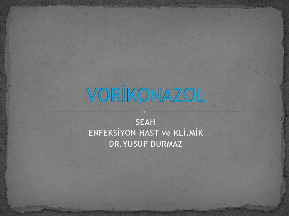 1-imidazol  ketokenazol mikokonazol 2-triazoller  flukonazol itrakonazol vorikonazol posakonazol…..