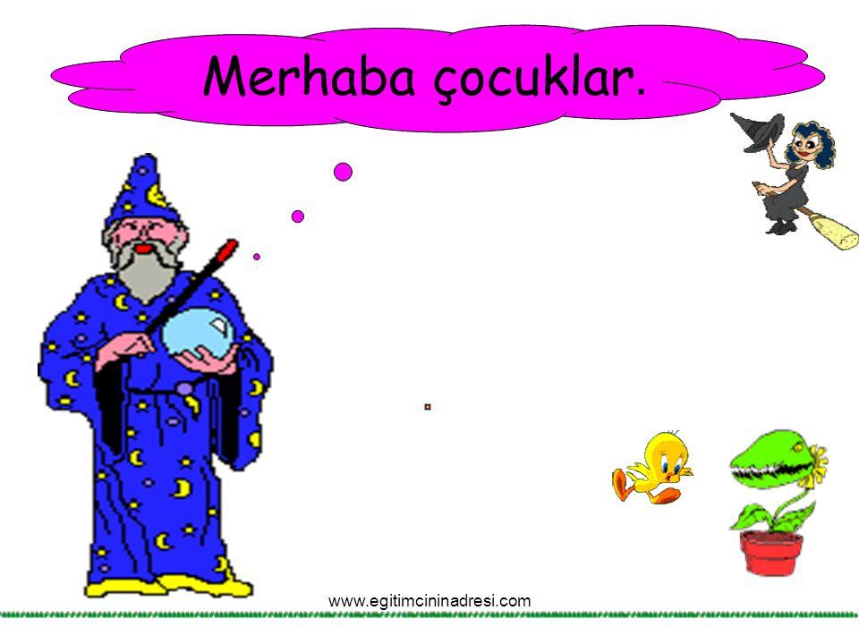 Ben, sen, o bir tek kişiyi ifade eder. Yani tekil adları karşılar. www.egitimcininadresi.com