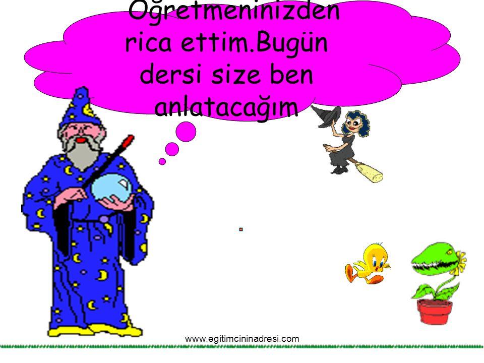 Nasıl mı?İsmin hal eklerini alarak. www.egitimcininadresi.com