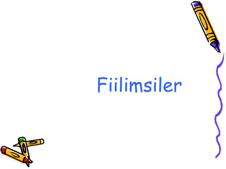 1-) İSİMFİİLLER: Fiillere gelen özel ekler yardımıyla isim olmuş sözcüklerdir.