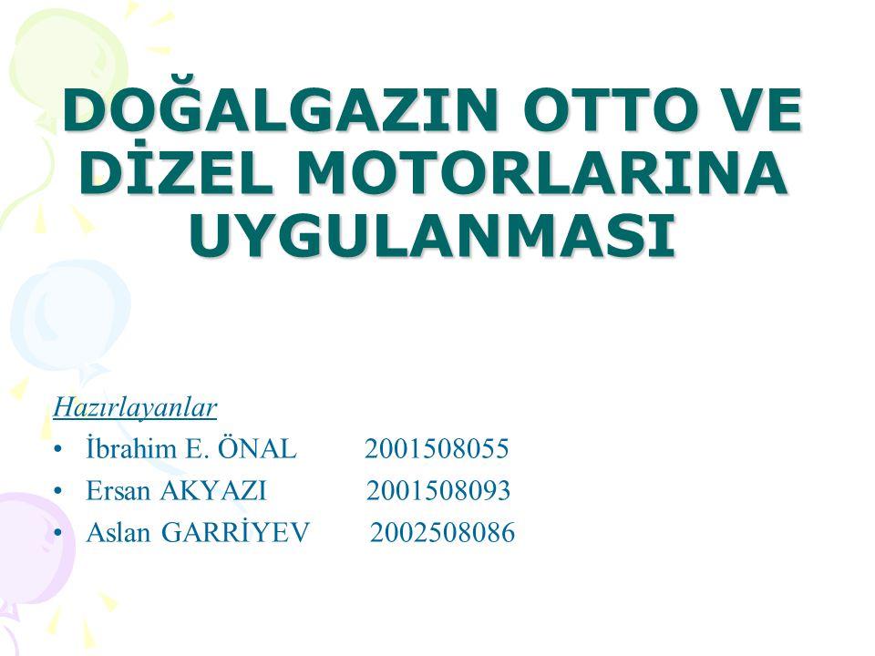 Çift Yakıtlı Motor İle Tek Yakıtlı Motorun Karşılaştırılması ÇİFT YAKITLI Çift yakıtlı motorun dönüşüm maliyeti daha düşüktür.