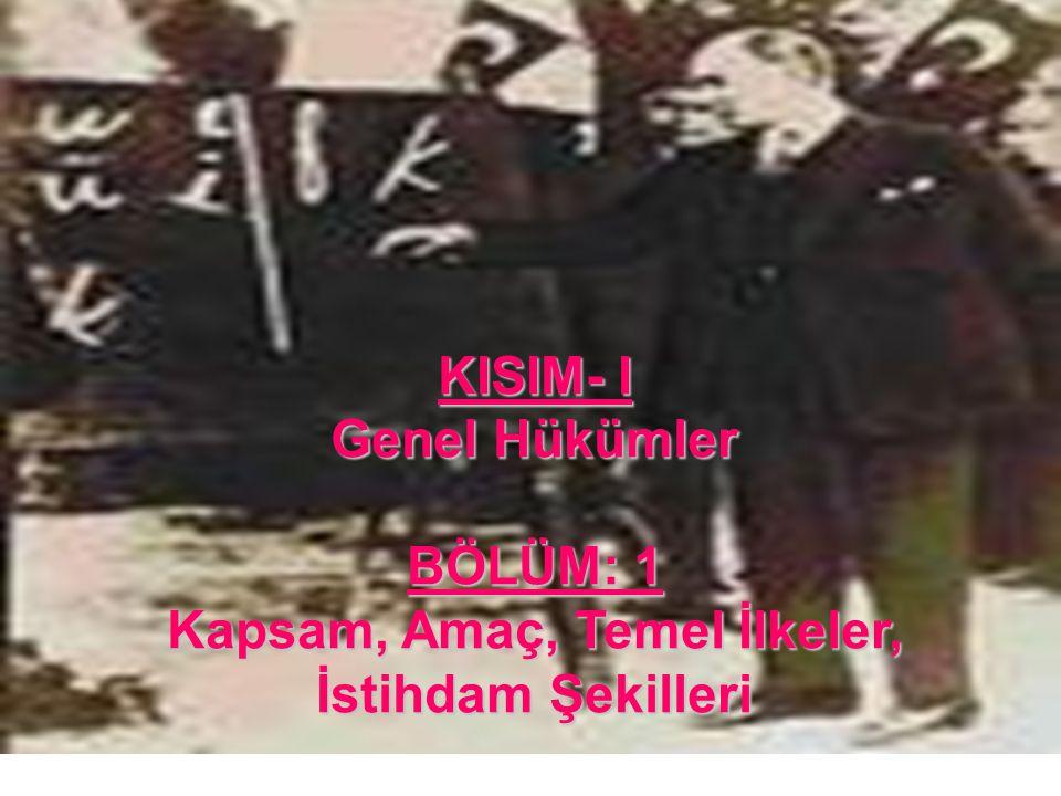 13 Sadakat: Madde 6- Devlet memurları, Türkiye Cumhuriyeti Anayasasına ve kanunlarına sadakatla bağlı kalmak ve milletin hizmetinde Türkiye Cumhuriyeti kanunlarını sadakatla uygulamak zorundadırlar.