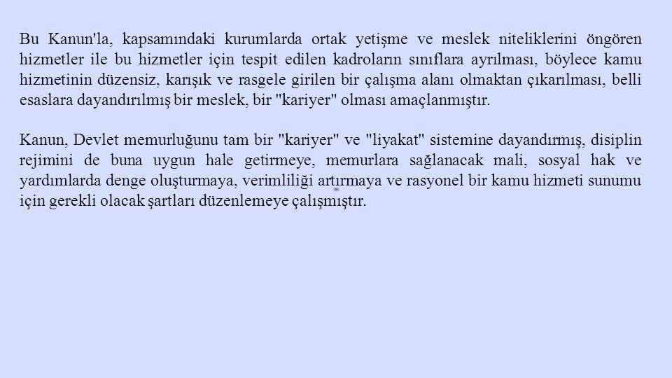 C) Ticaret ve Diğer Kazanç Getirici Faaliyetlerde Bulunma Yasağı Devlet memurları, Türk Ticaret Kanunu na göre tacir veya esnaf sayılmalarını gerektiren faaliyetlerde bulunamazlar.