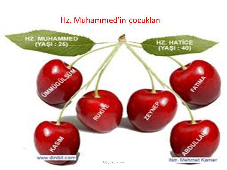 Hz. Muhammed'in çocukları bilgidagi.com
