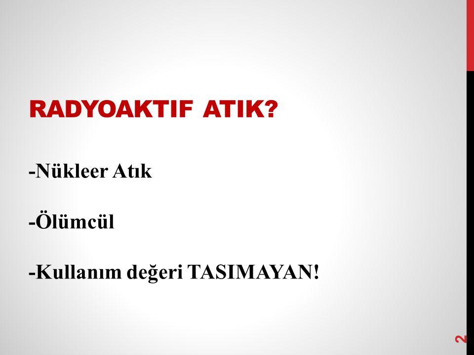 HIDROELEKTRIK ENERJI Türkiye nin toplam enerji tüketiminin yaklaşık %30 u hidroelektrik kaynaklardan temin edilir.
