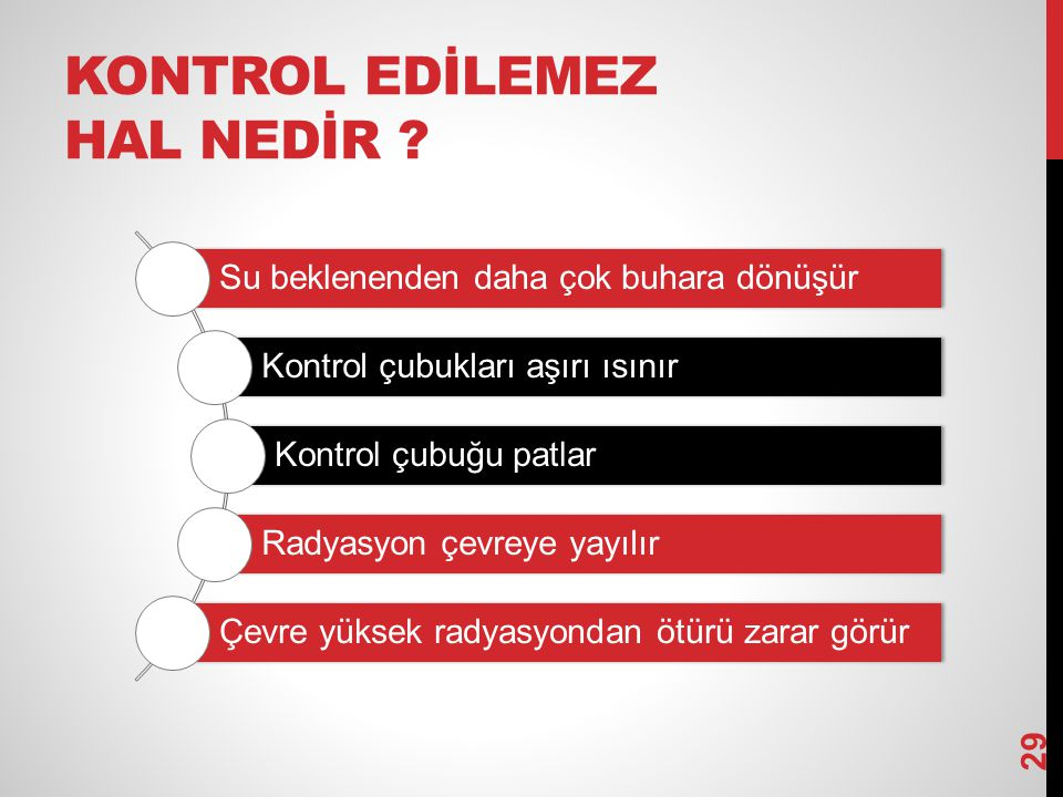 KONTROL EDİLEMEZ HAL NEDİR .