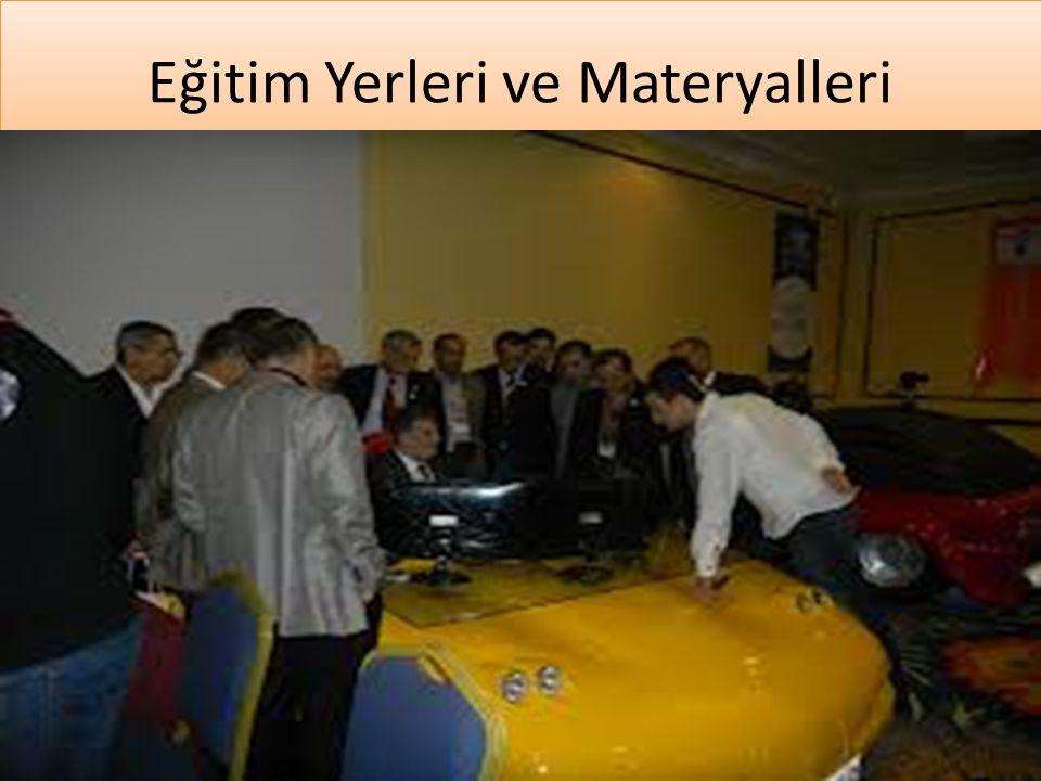 www.cemalsahin.comwww.cemalsahin.co m 17 Eğitim Yerleri ve Materyalleri