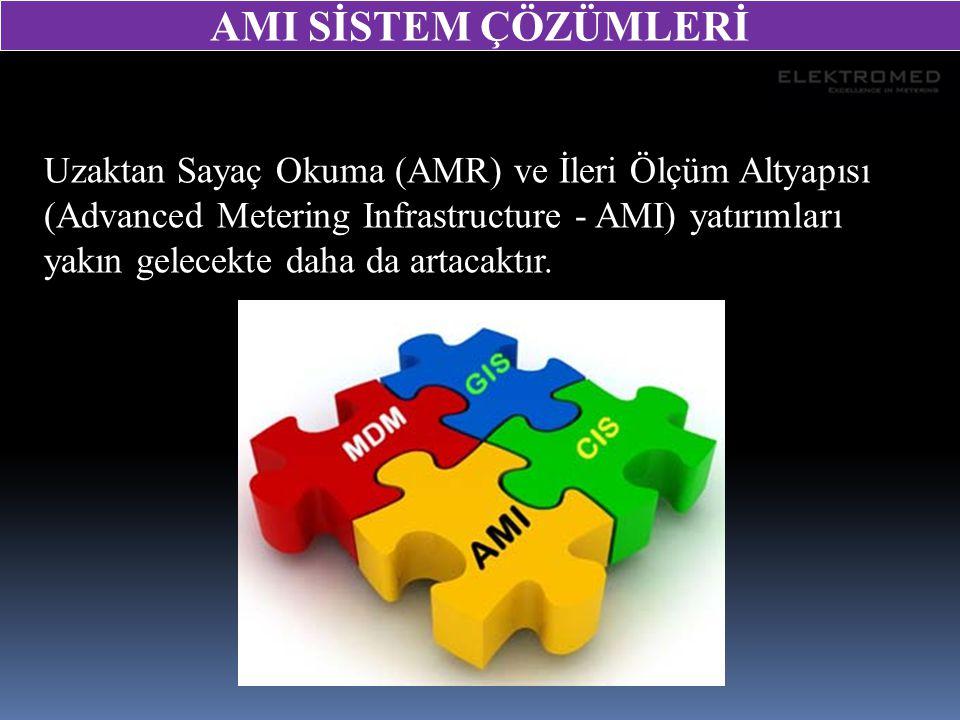 Bütün sayaç ortamlarını destekleyen AMI çözümleri, doğal kaynakların kullanımı ve yüksek enerji tüketimleri ile ilgili olduğundan önem kazanacaktır.