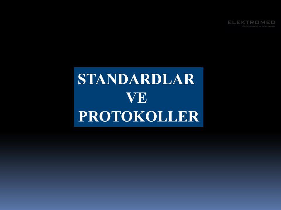 Standardlar olmadan bir akıllı şebeke kurmak akılcı bir fikir değildir.