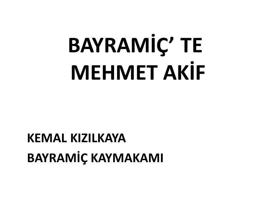 MEHMET AKİF ERSOY' UN NÜFUS TEZKİRESİ Maliye Nezareti Evrak-ı Nakdiye ve Levazım Müdüriyeti DEVLET-İ ALİYYE-İ OSMANİYE TEZKİRESİDİR İsim ve Şöhreti: Mehmet Akif Efendi.