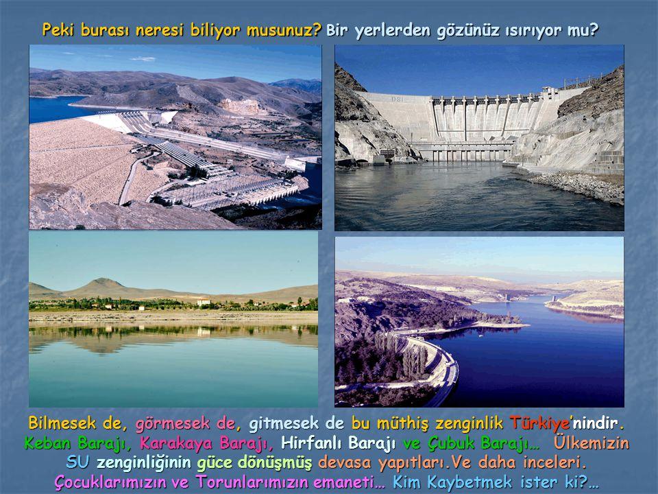Peki burası neresi biliyor musunuz? B ir yerlerden gözünüz ısırıyor mu? Bilmesek de, görmesek de, gitmesek de bu müthiş zenginlik Türkiye'nindir. Keba