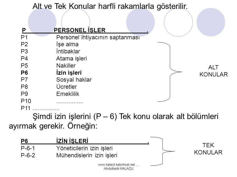 www.halacli.kebirhost.net...Abdulkadir HALAÇLI Alt ve Tek Konular harfli rakamlarla gösterilir.
