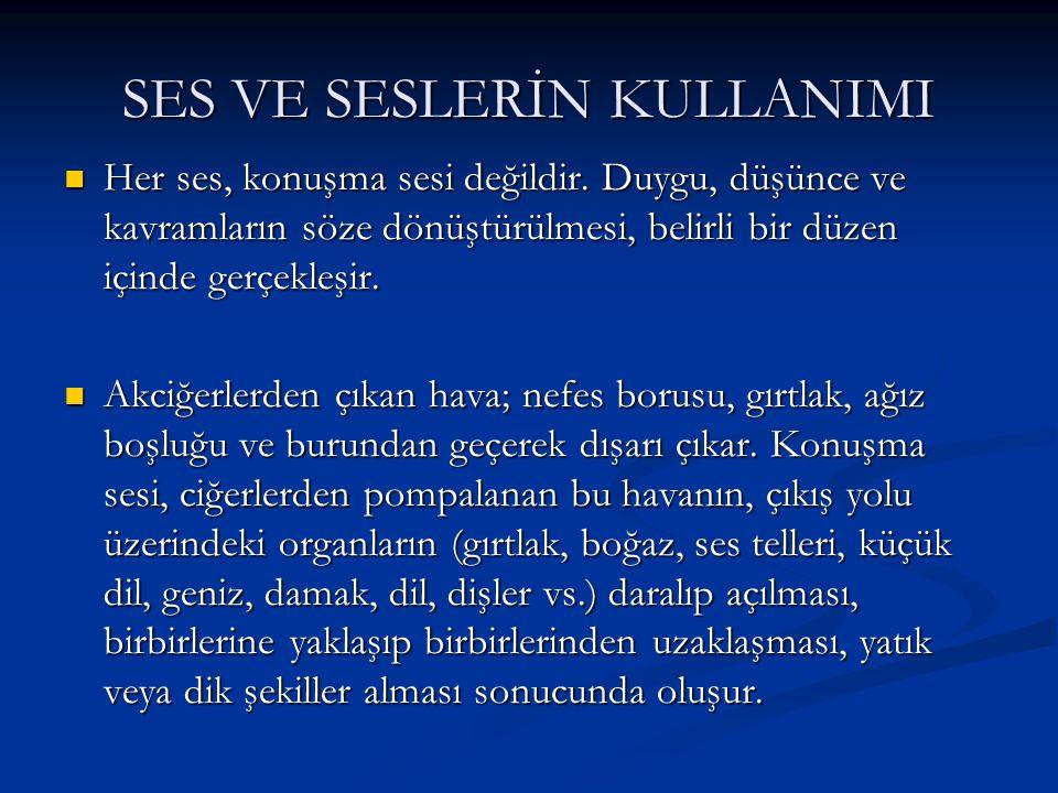 Türkçenin sesleri, alfabedeki 29 harfle karşılanmaktadır.