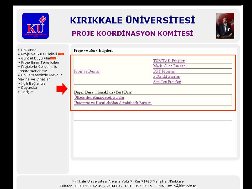 GÖRÜŞ VE ÖNERİLERİNİZİ BEKLİYORUZ http://apk.kku.edu.tr/ adresinden ilgili birim temsilcisinin e-posta adresine ulaşabilirsiniz.
