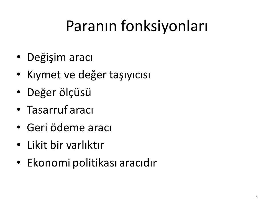 APİ (Doğrudan Alım) AKTİF V-Menkul Kıymet Cüzdanı (+) PASİF I.