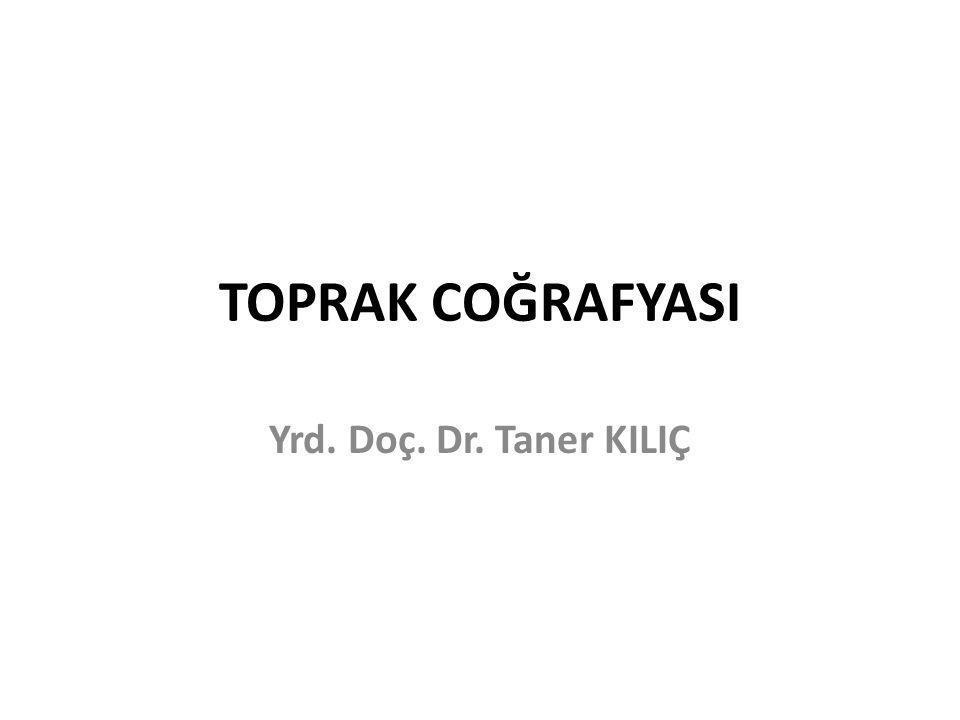 Kırmızımsı Kahverengi Topraklar Bu topraklar, karasal yarı kurak iklim şartlarının hüküm sürdüğü GD Anadolu Bölgesi'nde çok yaygındır.