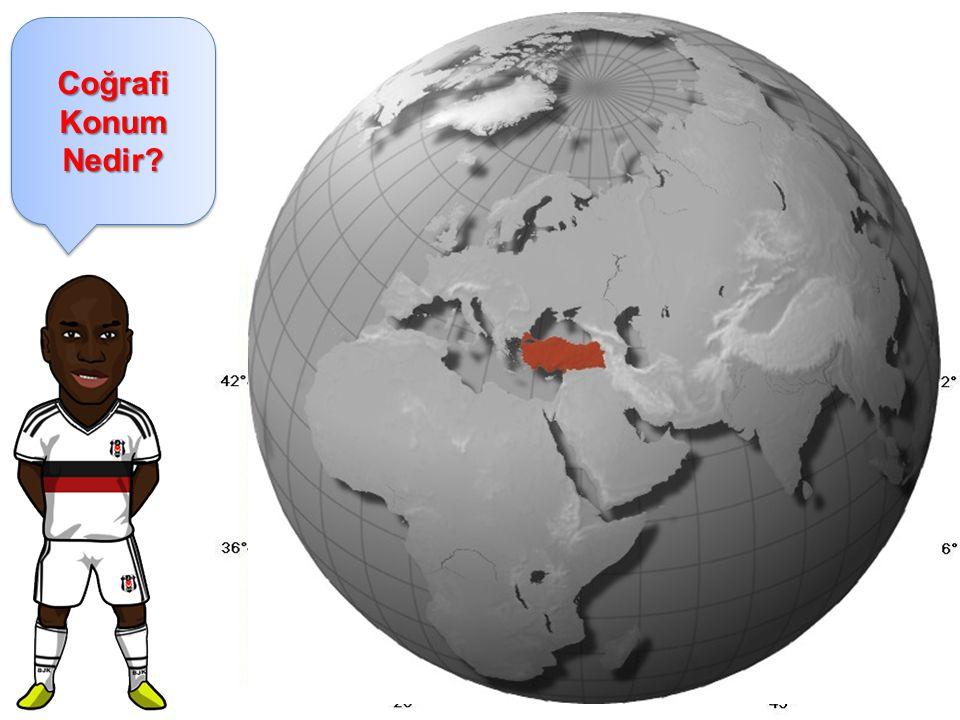 Coğrafi Konum Nedir? Coğrafi Konum: Dünya üzerindeki bir yerin diğer yerlere göre bulunduğu konumdur. Türkiye'nin Coğrafi Konumu: Türkiye, Dünya'nın K
