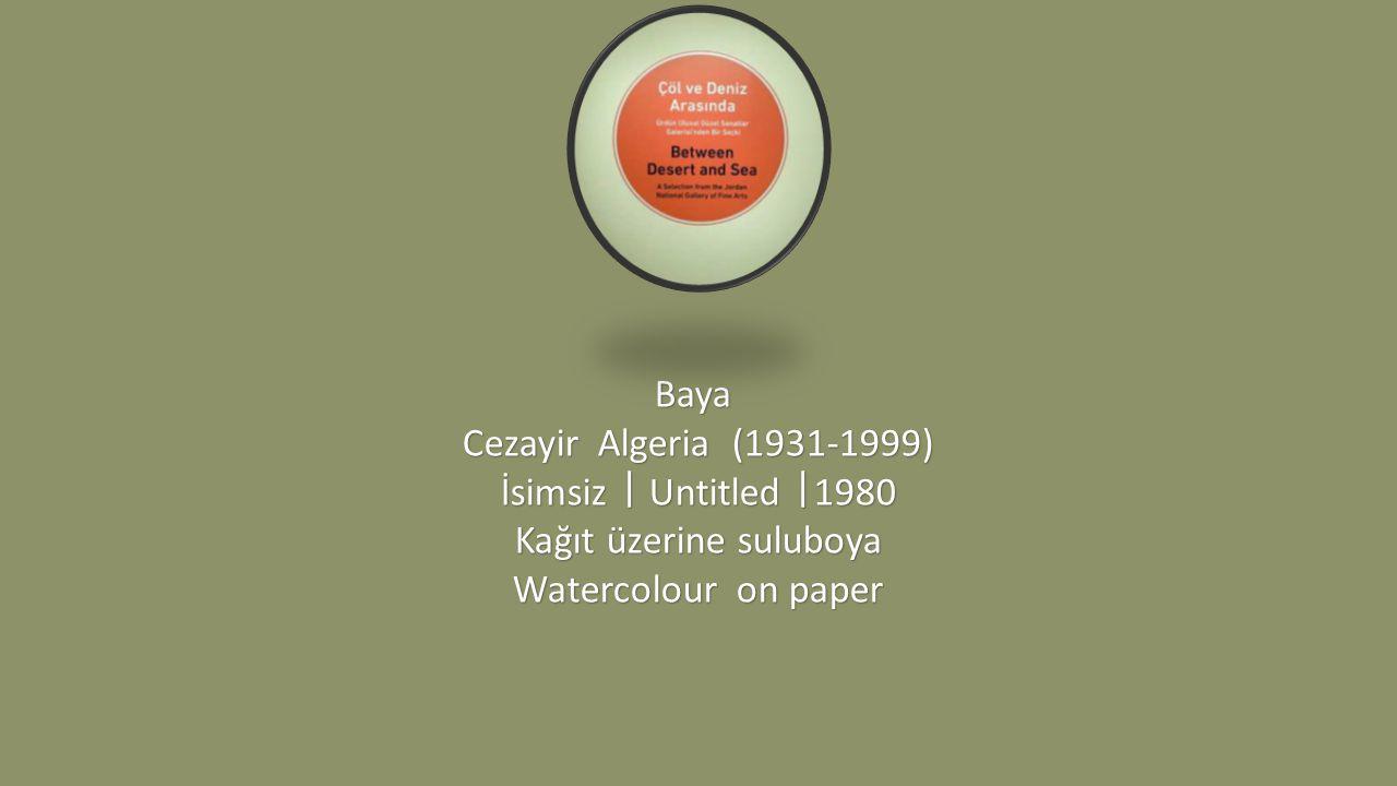 Awad Shimi Mısır Egypt (1949) Olgunluk ᅵ Maturity ᅵ 1984 Aside yedirme baskı 13/50 Etching 13/50 Etching 13/50