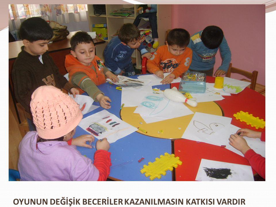OYUNUN DEĞİŞİK BECERİLER KAZANILMASIN KATKISI VARDIR
