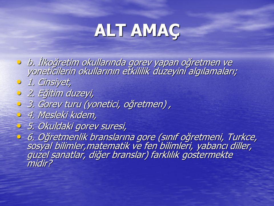 ALT AMAÇ b.