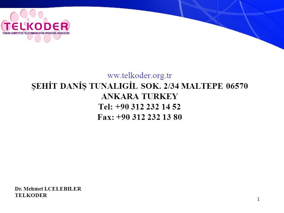 1 ww.telkoder.org.tr ŞEHİT DANİŞ TUNALIGİL SOK.