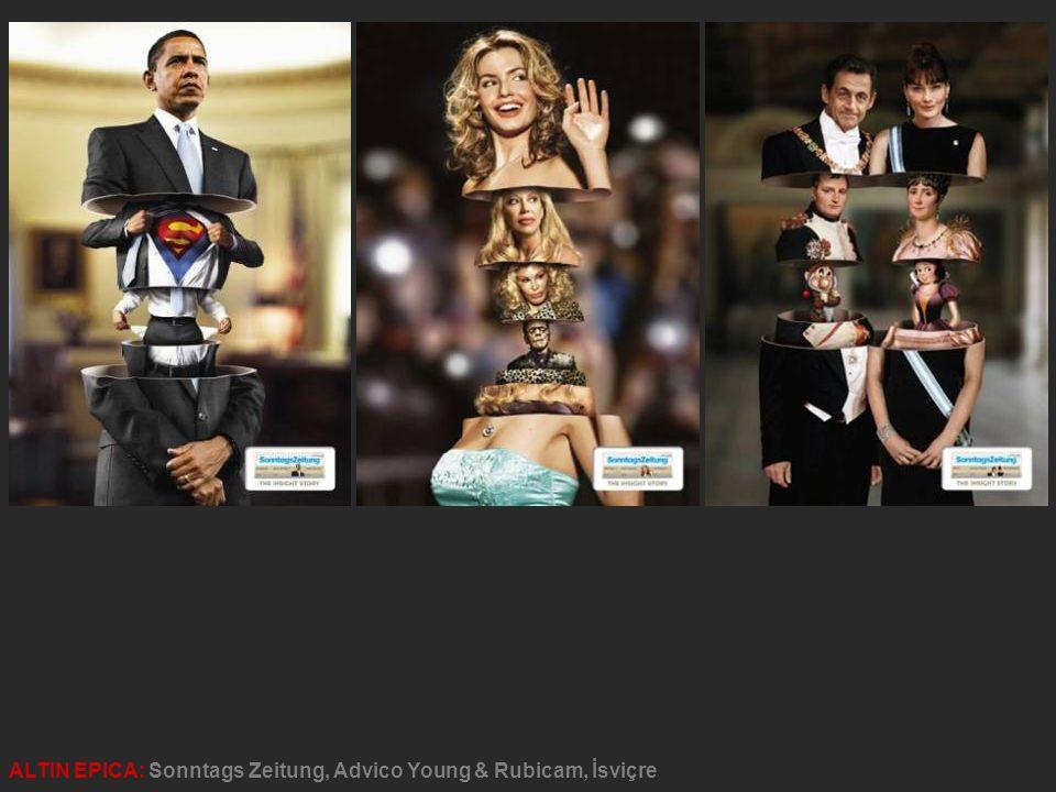 ALTIN EPICA: Sonntags Zeitung, Advico Young & Rubicam, İsviçre