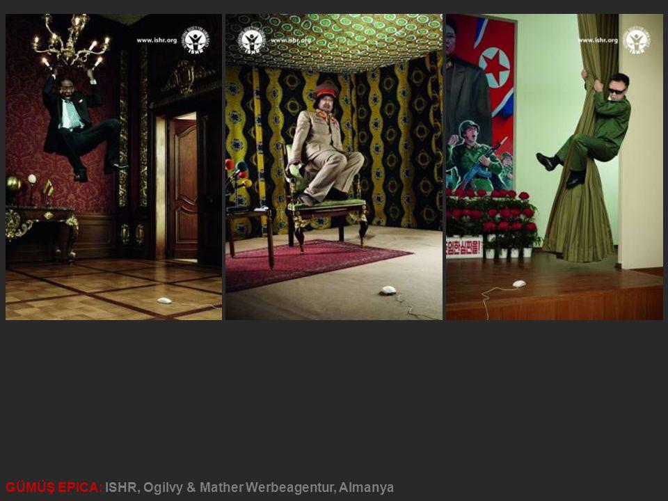GÜMÜŞ EPICA: ISHR, Ogilvy & Mather Werbeagentur, Almanya