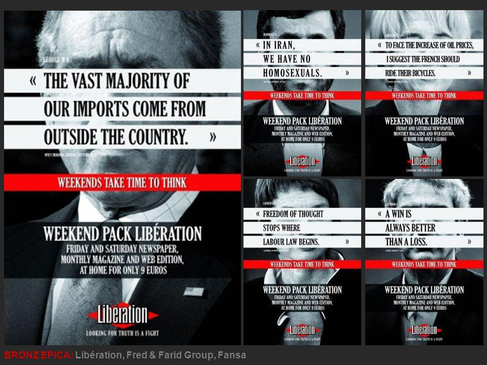 BRONZ EPICA: Libération, Fred & Farid Group, Fansa