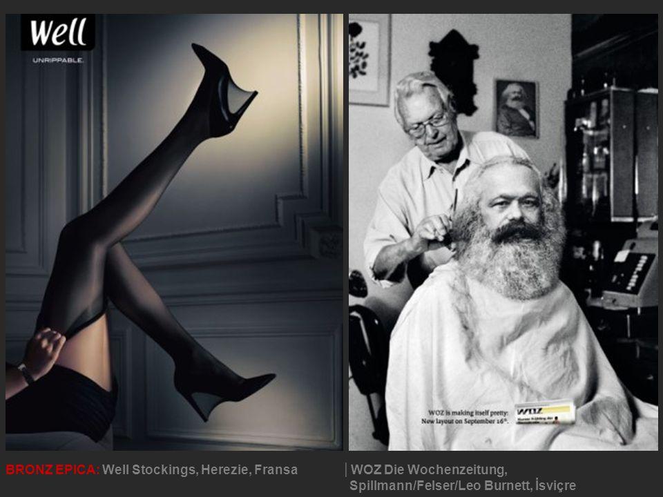 BRONZ EPICA: Well Stockings, Herezie, Fransa│WOZ Die Wochenzeitung, Spillmann/Felser/Leo Burnett, İsviçre